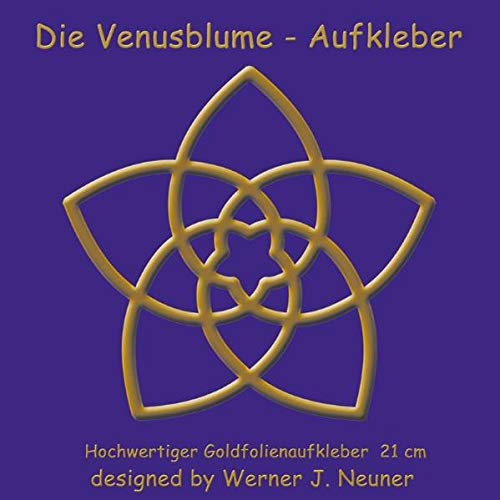 Die Venusblume - Aufkleber 21 cm