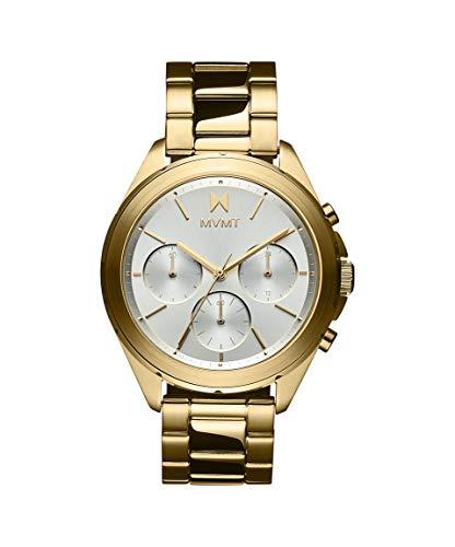 MVMT Damen Analog Quarz Uhr mit Edelstahl Armband 28000128-D