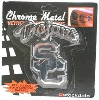 Stockdale USC Trojans Metal Chromed Auto Emblem
