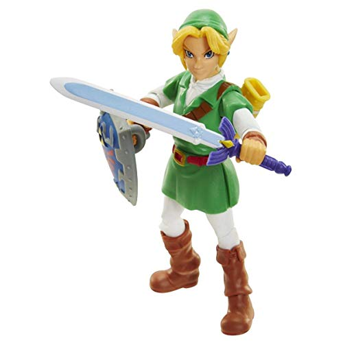 World of Nintendo The Legend of Zelda: Ocarina of Time Link Action Figure 4 Inches