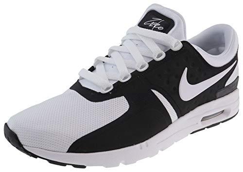 Nike Damen Air Max Zero Fitnessschuhe, schwarz/weiß, 44.5 EU