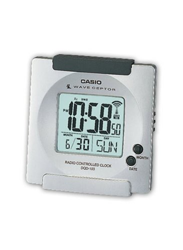 Casio CLOCKS - Reloj digital unisex de cuarzo (alarma, luz)