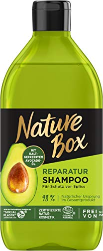 Nature Box Reparatur-Shampoo Avocado-Öl, 385 ml