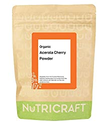Organic Acerola Cherry Powder by Nukraft: 250g (Also Available in 500g and 1kg)