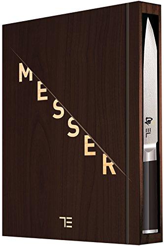 TEUBNER Messer Limited Edition - inkl. hochwertigem Damastmesser von kai mit Sonderprägung