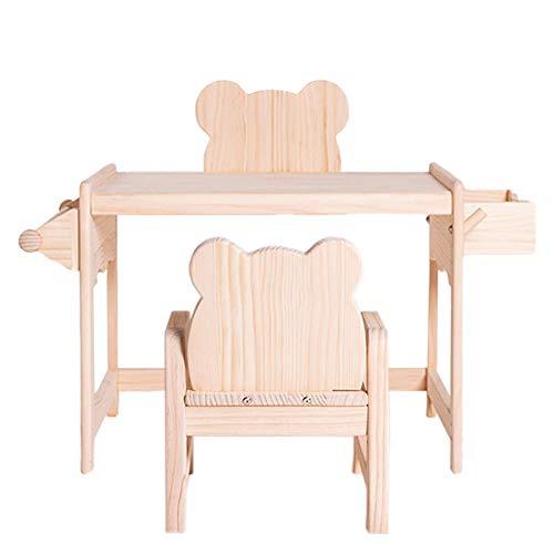 Bearde Themed Kids Sket Y Sillas, Mesa De Actividades para Niños Pequeños Y Sillas para La Sala De Juegos para La Escuela De Guardería (se Vende por Separado) Desk + Chair
