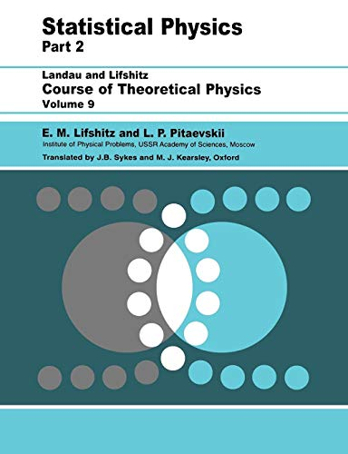 Statistical Physics: Theory of the Condensed State...