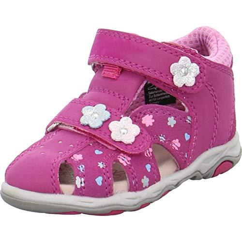 Lurchi Baby Mädchen Jolly Sneaker, Pink (Pink 23), 24 EU