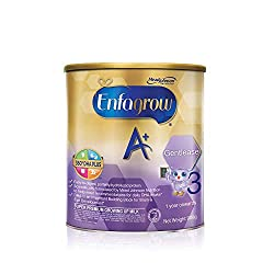 Enfagrow A+ Stage 3 Gentlease Toddler Milk Formula 360 DHA+ , 1-3 years, 900g