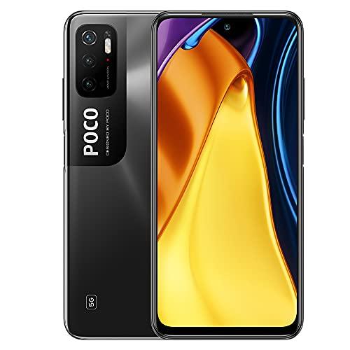 "Xiaomi Poco M3 Pro 5G Smartphone,6GB 128GB Teléfono Móvil,DotDisplay FHD+ de 6,5"",MediaTek Dimensity 700,Cámara Triple, Versión Global(Negro)"