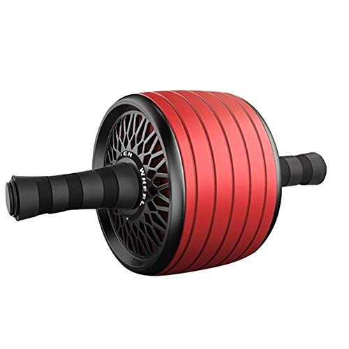 SADDPA Ab Bauch Übungs-Rolle, Ab Roller Wheel - Robuste Ab Workout Ausrüstung for Core Training - Ab Exercise Equipment Wie Bauchmuskeln Toner (Color : Red)