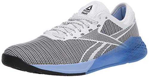 Reebok - Zapatillas de CrossFit Nano 9 para mujer, Blanco (Blanco/Negro/Azul Blast), 39 EU