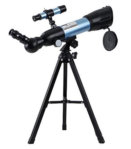 ZTBXQ Suministros para Equipos de Campamento Telescopio para niños observación de Estrellas Estudiante niño Pequeño telescopio astronómico monocular Principiante Tubo únicoPortátil