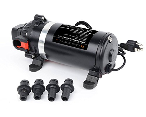 Water Transfer Pump Screwdriver for Irrigation Garden Lawn Shallow Well