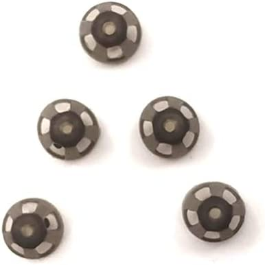 Hearing Aid Domes Smoky Gray Tips Ear store Comfortable Super-cheap Pieces Ope for