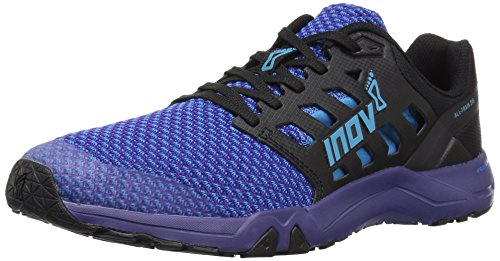 Inov-8 Women's All All Train 215 Knit (W) Cross Trainer, Blue/Purple, 7.5 B US