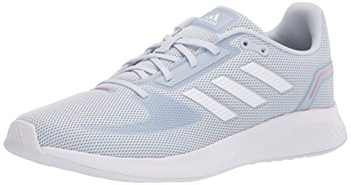adidas Women's Runfalcon 2.0 Running Shoe, Halo Blue/White/Dash Grey, 7.5
