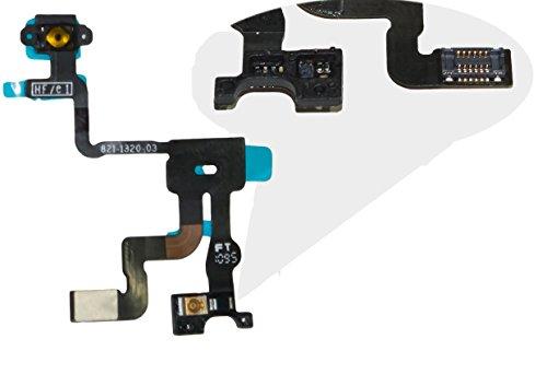 Ilovemyphone Cable Flex de Boton Power Encendido Sensor Proximidad Luz para iPhone 4S / 4GS