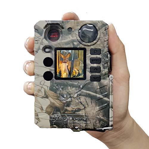 BolyGuard Wildkamera 18MP 720P Trail Game Kamera Bewegungsaktivierte Infrarot Nachtsicht mit 1,4 Zoll LCD Display IP66 Wasserdichtes Design für Outdoor und Home Security