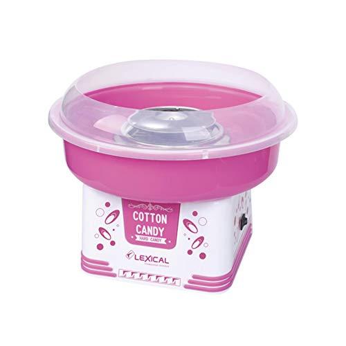 lennonsi Elektrische Zuckerwattemaschine Zuckerwatte Maschine für zuhause Cotton Candy Machine Lebensmittelqualität für Kinder zu Hause, Automat Zuckerwattegerät 30×30×25cm