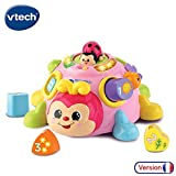 VTech - Super coccinelle des formes - formes à encastrer - 2 mode de jeux - rose (522355)