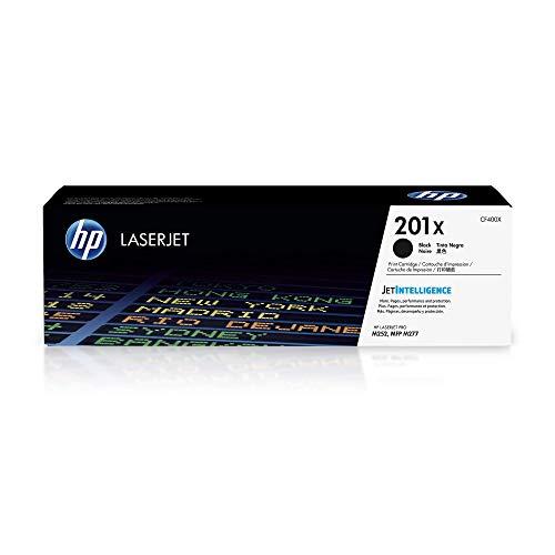 HP 201X (CF400X) Schwarz Original Toner mit hoher Reichweite für HP Color Laserjet Pro M252, M274n, M277