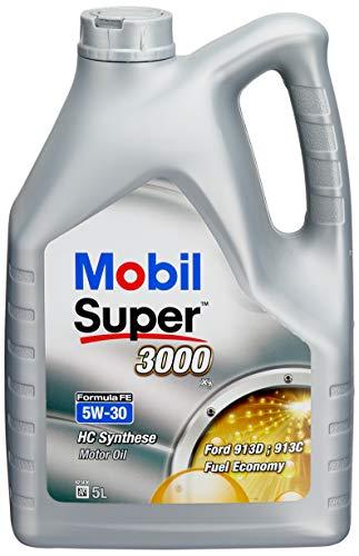 Mobil 1 151525 Super 3000 X1 Formula FE 5W-30 Aceites de Motor para Coches, 5 litros