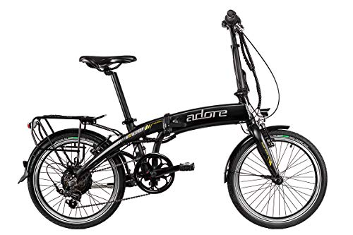 Adore E-Faltrad Cologne 20'' Alu Pedelec schwarz 6-Gang E-Bike250Watt Li-Ion 36V/8,7Ah