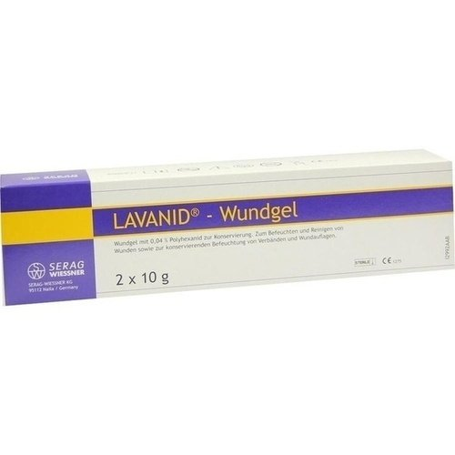 LAVANID Wundgel 2X10 g
