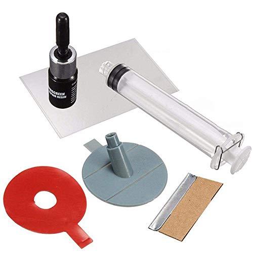 Windschutzscheiben-Reparatursatz - 1 Satz Windschutzscheibe Windschutzscheiben-Reparatur-Werkzeug, DIY Car Kit, Windglas für Chip & Crack.