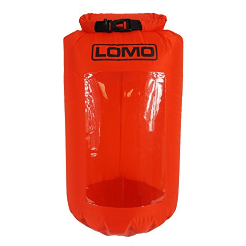 Lomo Lightweight 20L Drybag Rucksack Liner With Transparent Viewing Window - Red