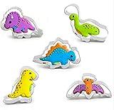 Dinosauri stampini per biscotti cutter Tagliabiscotti Usato per pasta di zucchero,biscotti, pasta frolla