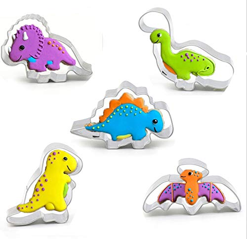 Moldes galletas Molde galletas dinosaurios Cutter manualidades, Utilizado para galletas de pastel...