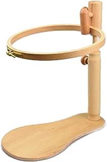 CDKJ Portátil de Madera de Soporte Ajustable Bastidor de Bordado de Punto de Cruz Craft 21cm Herramientas de Costura cuaderna