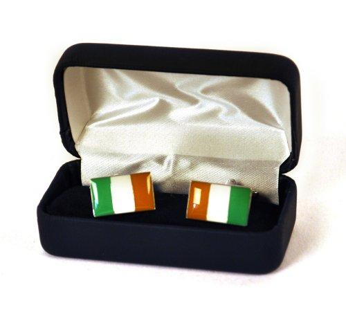 Mag Mouch Irish Flag Cufflinks