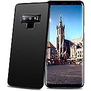 Meidom Samsung Galaxy Note 9 Hülle Ultra Dünn Schutzhülle Hochwertigem Stoßfest, Anti-Fingerabdruck Bumper Cover Schutz Tasche Schale Handyhülle für Galaxy Note 9 - Matt Schwarz