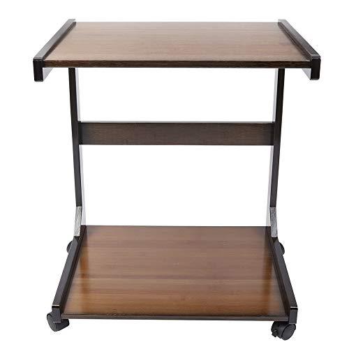 Mesa auxiliar Mesa de bocadillos móvil moderna Cama Mesa auxiliar Ordenador portátil Muebles de escritorio para el hogar