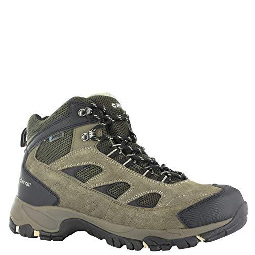 Hi-Tec Men's Hiker Ramsey Waterproof Boots Smokey Brown/Olive/Snow 11