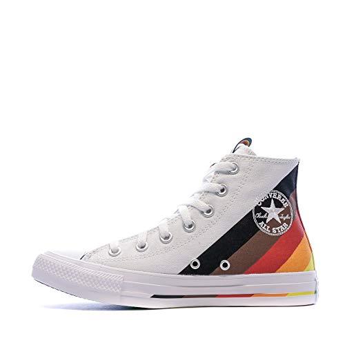 Converse Unisex Chuck Taylor All Star Pride High Top White/Multi (Numeric_10)