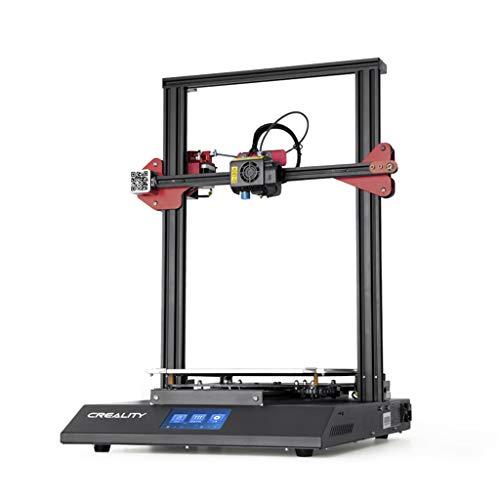 LIGHTZHAO Indoor FDM 3D Printer, Print Size 300 * 300 * 400mm Z-axis Twin Screw ±0.1mm Matrix Printer, 100-240V