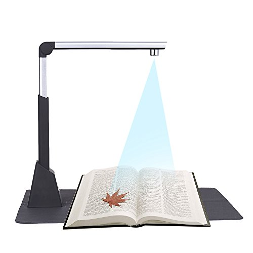 Great Features Of QWERTOUY A3 10 Megapixel Book Scanner A3 Document Scanner OCR Document Camera Scan...
