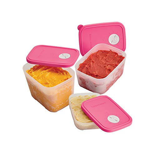 Set de recipientes para congelación con fechador incluido, Frigofechadores Tupperware