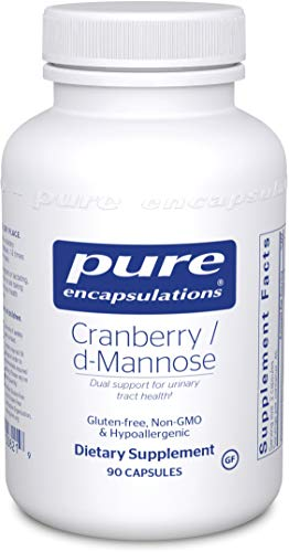 Pure Encapsulations - Cranberry/D-Mannose - Hypoallergenic Supplement to Support Urinary Tract Health - 90 Capsules