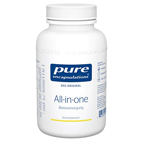 Pure Encapsulations - All-in-one - Umfassendes Multivitamin für jeden Tag - 120 vegetarische Kapseln