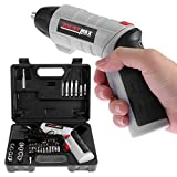 Bestyyo Electric Screwdriver,4.8V Cordless Cordless Drill Driver with Driver Accessories for Home DIY Screw-Driving & Fastening Great Gift Idea for Craftsman (500mah battery, battery voltage 4.8V)