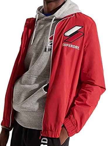 SUPERDRY Trainingsjacke, Varsity Red, XXX-Large