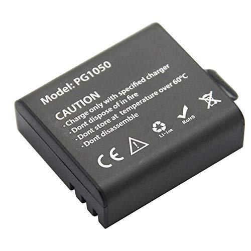 OUYBO Cargador doble USB + 2pcs 1050mAh recargable de la cámara Li-ion for EKEN H9 H9R H3 H3R H8PRO H8R H8 pro acción de la cámara Deportes Accesorios de batería de piezas RC (Color : One battery)