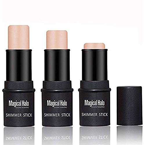 Highlighter Stick, NICEFACE Shimmer Cream Powder Waterproof Light Face Cosmetics ( 2 colors )