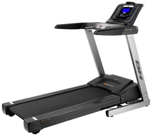 BH Fitness Laufband i.S. Pro, Schwarz/Silber