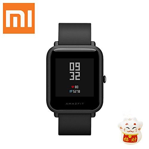 Amazfit Stratos - Smartwatch con GPS y sensor de frecuencia cardíaca (resistente al agua...